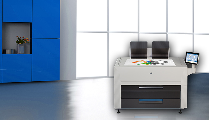 KIP 850 Wide Format Color Printer